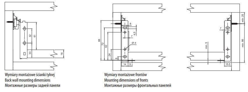 Метабокс 150*270 мм PRESTIGE